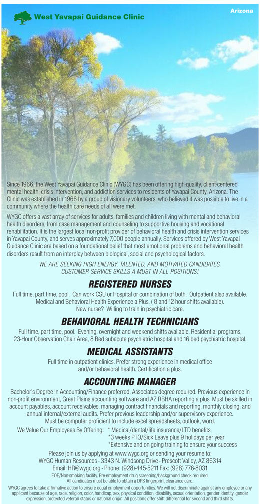 Registered Nurses Behavioral Health Technicians Medical Assistants