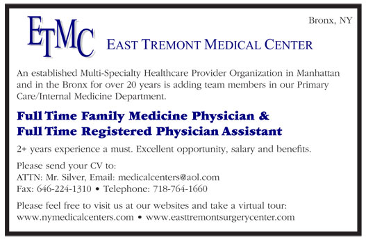 Full Time Family Medicine Physician & Full Time Registered Physician ...
