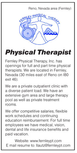Physical Therapy Job Description | Physical Therapist Job In Reno Nevada Healthcare Jobs Recruitment