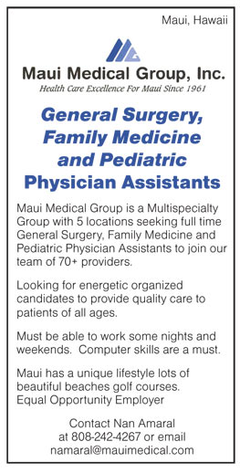 General Surgery, Family Medicine and Pediatric Physician Assistants ...