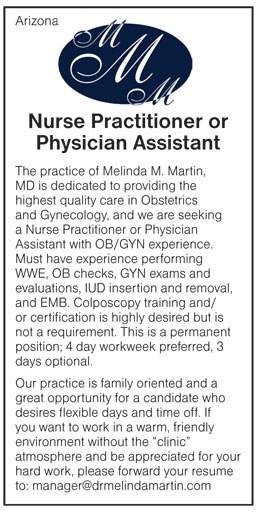 Nurse Practitioner or Physician Assistant job in Arizona ...