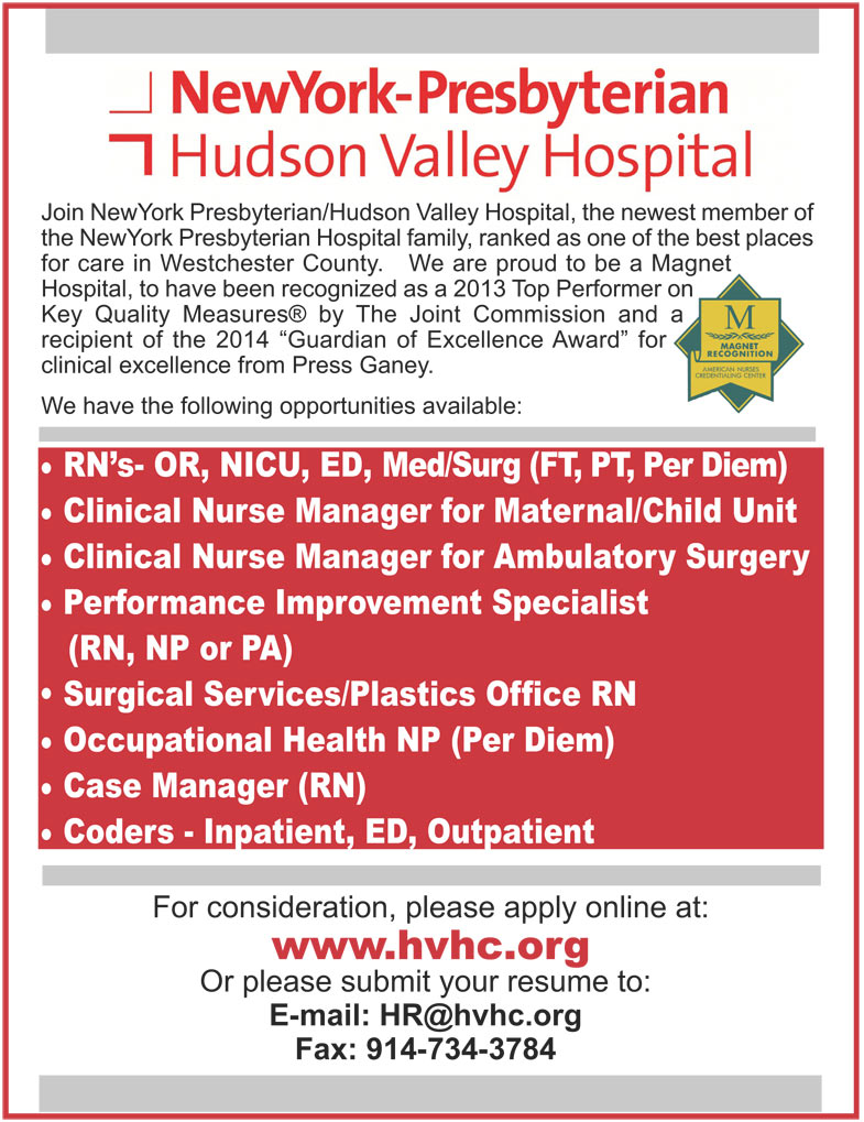 RN, PA and NP Opportunities job in Courtland Manor New York