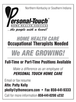 Home health occupational therapist job description