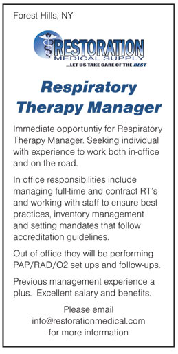 Respiratory The Job Description | Swypeout Respiratory Care Manager Job Description
