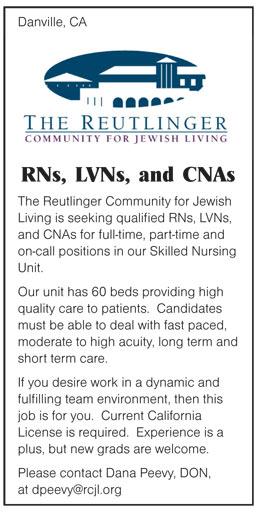 RNs, LVNs, and CNAs job in Danville California - Healthcare