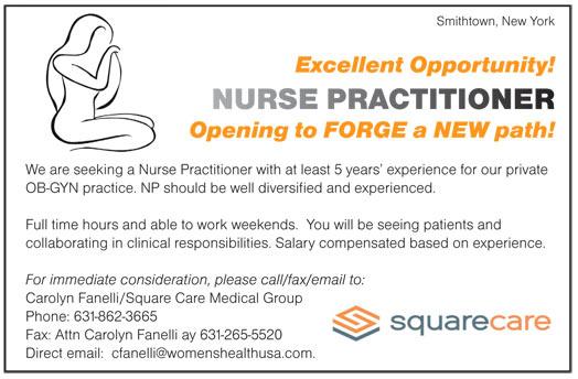 Nurse Practitioner job in Smithtown New York - Healthcare